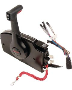 Quicksilver Side Mount Remote Control,  8 Pin Traditional w/ 15' Harness
