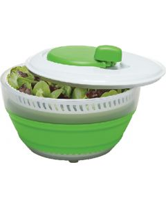 Progressive Int'l Corp Collapsible Salad Spinner - 3 Quart Collapsible Salad Spinner