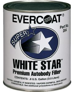 Evercoat White Star Filler - Quart