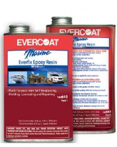 Evercoat Everfix Epoxy Resin, Quart
