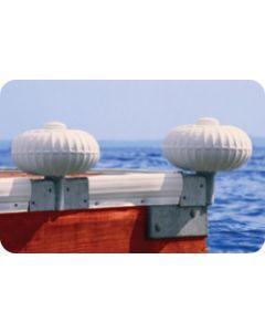 "Taylor Made Dock Pro 9"" Corner Mount Inflatable Dock Wheel"