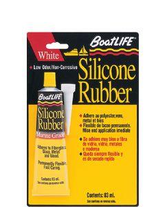 Boatlife Marine Silicone Rubber Sealant 2.8 Fl Oz, White