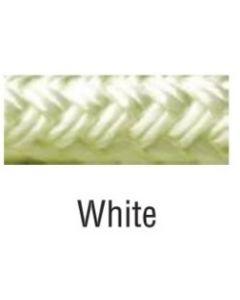"Seachoice Double Braided Nylon Fender Line, White, 1/4"" X 6' Fender Lines"