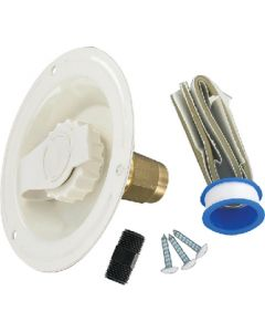 Valterra Water Inlet Lead Free Col Wht - Recessed Water Inlet