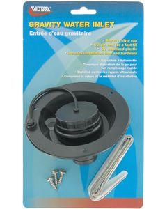 Valterra Water Inlet Gravity Black - Gravity Water Inlet