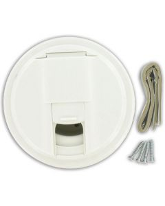 Valterra Universal White Cable Hatch - Cable Hatch