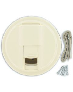 Valterra Universal Col Wht Cable Hatch - Cable Hatch
