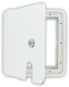 Valterra Large White Electrical Hatch - Cable Hatch