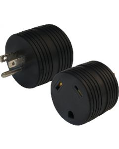 Adapter Plug 30-50A Carded - Electrical Adapter Plug