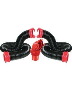 Valterra Dominator Sewer Hose Kit 20' - The Dominator Sewer Hose Kit