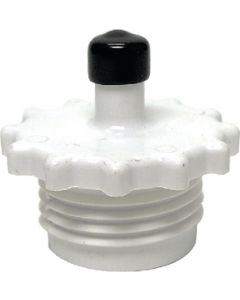 Blow Out Plug White Carded - Blow Out Plug