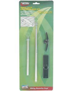 Valterra Waste Valve Extn Rod Kit - Waste Valve Extension Tube Kit