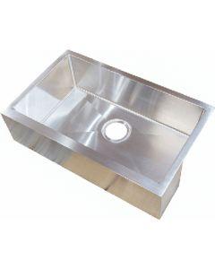 Sink-Ss Single Bowl 27X16X7 - Stainless Steel Farmers Sink