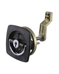Perko White Flush Lock 1