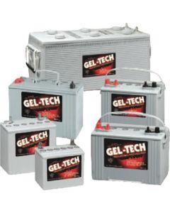 Midstate Battery Gel-Tec Dryfit Battery, 12 Volt Deep Cycle 8G27M