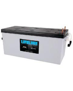 Midstate Battery Battery Lifeline Acm 12v D/C