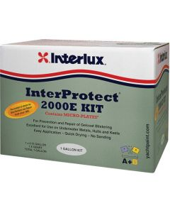 Interlux Interprotect 2000E Epoxy Boat Fiberglass Barrier White, Kit
