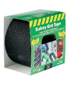 "Incom 4"" X 60' Black Anti-Slip Safety Grit Tape"