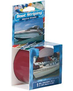 "Incom 1"" X 50' Burgundy Boat Striping Tape"