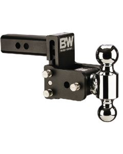 B&W Model 6 Dual Ball Tow - Tow & Stow&Trade; - Receiver Hitch