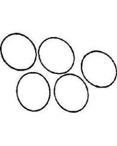 "Beckson O-Rings For Deck Plates, 8"""