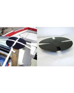 Airlette Boat Shrink Wrap Support Pole End Cap Pad