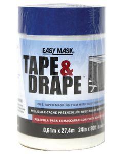 Trimaco Tape & Drape W/14 Day Tape 2' X 90'