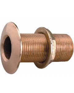Perko 3/4 Thru-Hull Fitting w/Pipe Thread Bronze MADE IN THE USA