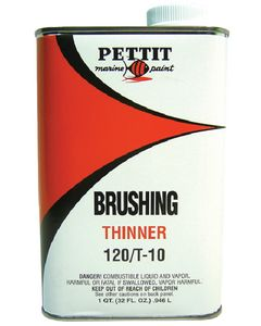 Pettit Paint Brushing Thinner 120/T-10, Quart