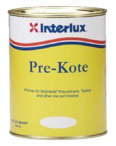 Interlux Pre-Kote Primer For One Part Topside Boat Finishs, White, Gallon