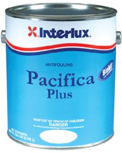 Interlux Gray Pacifica Plus Antifouling Paint, Pint