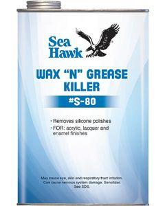 Sea hawk Wax 'n' Grease Killer Qt - Sea Hawk