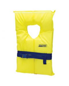 Seachoice Life Vest, Adult Type II, Universal, Yellow