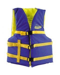 Seachoice Life Vest, XL Adult, 48 -65 , Blue/Yellow