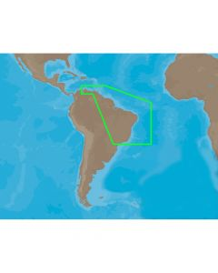 C-Map SA-C004 C-Card Format Puer- Bolivar Rio De Janeiro Electronic Charts