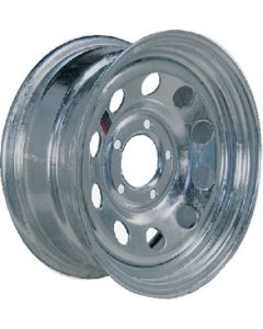 "Loadstar Mod Chrome Trailer Wheel, 14"" x 6"", 5 on 4.5, 1870 lbs"