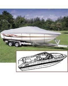 Seachoice V-Hull Runabout Boat Cover, 20' 6 x 102 , Semi-Custom