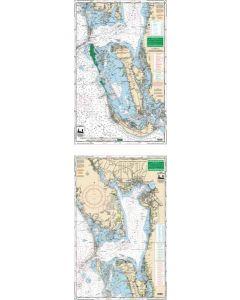 Waterproof Charts Charlotte Harbor & Pine Island Sound,  Florida Nautical Marine Charts,  Large Print