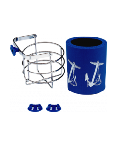Seasense, Chrome Plated Brass Drink/Mug Holder, Basket Drink Holders
