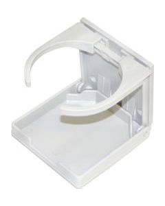 Seasense, Adjustable Boat Drink Holder - White, Folding Drink Holders