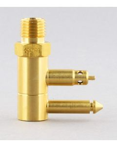 "Seasense 1/4"" NPT Brass Male Fuel Tank Connector for Mercury Outboards"