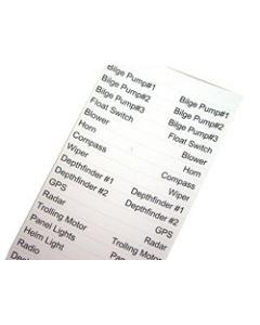 Seasense Waterproof Cable Labels