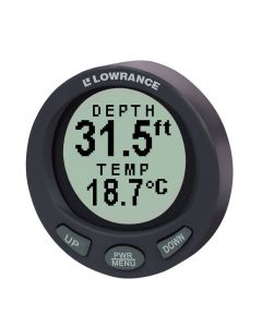 Lowrance LST-3800 In-Dash Digital Depth and Temp Guage