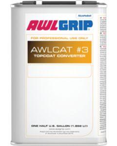 Awlgrip Awlcat #3 Brush Top Coat Converter, 1/2 Gallon