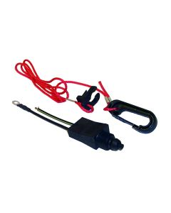 MarineWorks Cut Off Switch With Lanyard, Replaces Omc 585134