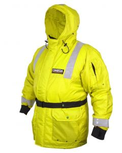 SurfStow Commercial Bomber Float Jacket - Yellow
