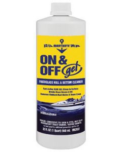 CRC Fiberglass Gel Hull & Bottom Cleaner, 32 oz.