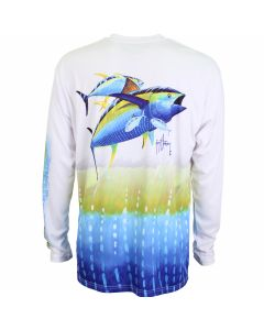 Guy Harvey Bf Tuna Mens Long Sleeve Performance