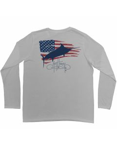 Guy Harvey Patriot Uv-X Performance Long Sleeve