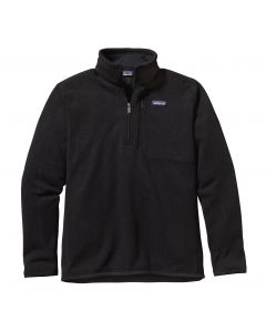 Patagonia Men's Better Sweater 1/4 Zip-Black
